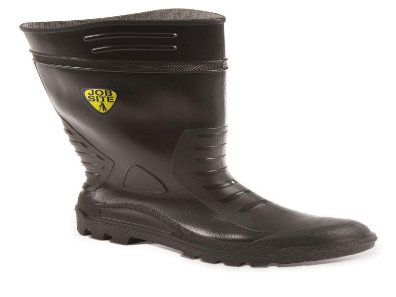Art500 Size 10 Black Pvc Wellington (sterling Safety)