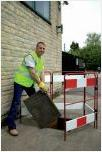 Road Barrier Systems Manhole Barrier Bar3