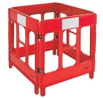 Road Barrier Systems 3 Gate Workgate Barrier Bar5