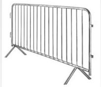 Road Barrier Systems Galvanised Crowd Control Safety Barrier Bar6