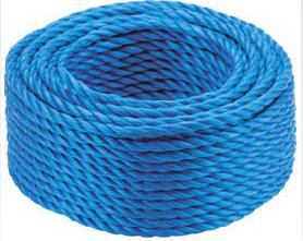 Straps,tarpaulins And Ropes Blue Poly Rope 8mm X 220m C179