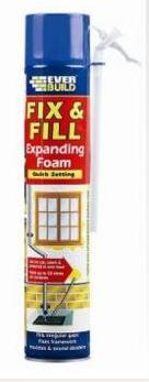 Decorating Equipment Fix & Fill Expanding Foam 750ml C223