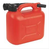 Fuel & Water Containers 5 Litre (1 Gallon) Red Plastic Fuel Can C285