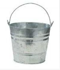 Bucket & Bins Galvanised Bucket C410