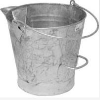 Bucket & Bins Galvanised Tar Bucket C411
