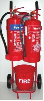 Fire Extinguishers Fire Trolley Kit C424