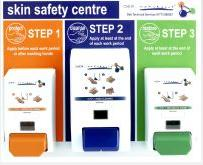 Skin Care/hand Cleaner Mini Skin Safety Centre C439