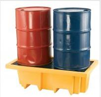 Spill Safety 2 Drum Containment Sump Pallet C465