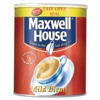 Canteen Equipment Coffee Maxwell House Powder 750g Tin C498