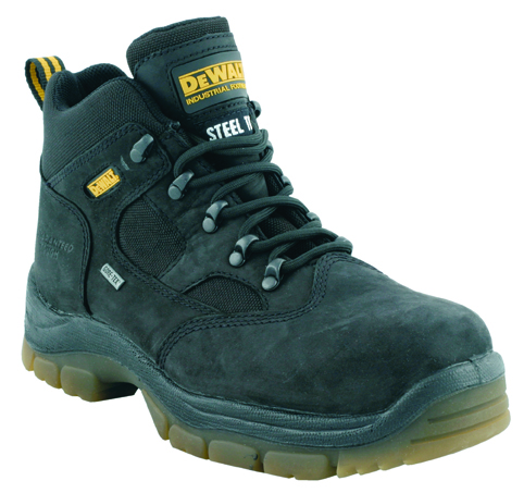 Challenger Black Size 8 Gore-tex Lined Water Proof Hiker (sterling Safety)