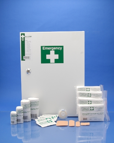 First Aid Kits F08 First Aid Kit 26 To 50 H.s.a. Plus First Aid Kit � Metal Cabinet F8