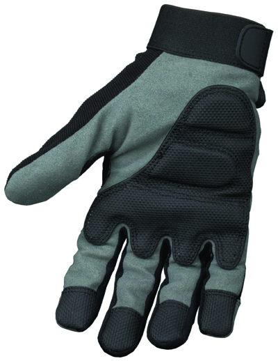Gel Palm Size L Grey/black Gel Palm Glove (sterling Safety)