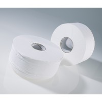 Paper Tissue Rolls Mini Jumbo Large Core 150mtr Kit2
