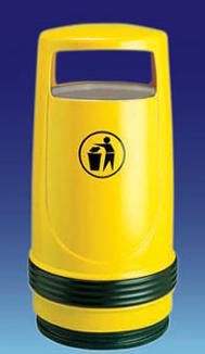 Litter Bins/lockers Merlin Litter Bin With Ash Tray Mer2