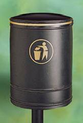 Litter Bins/lockers Nickleby Litter Bin - Open Topped Nic2
