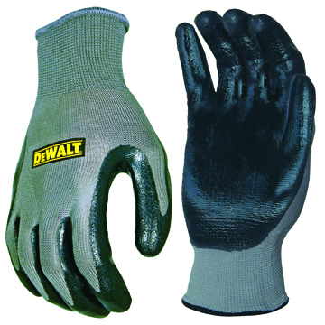 Dpg66l Size L Grey/black Nitrile Nylon Glove (sterling Safety)