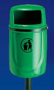 Litter Bins/lockers Osprey Litter Bin With Ash Tray Osp1