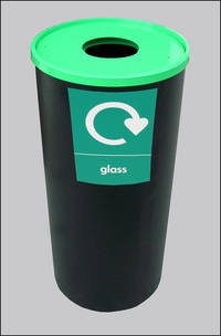 Round Lobby Bin Recycle Range Round Lobby Bin Recycle Para055