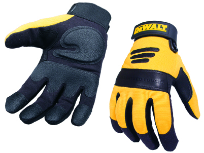 Performance 2 Size L Yellow/black Gel Palm Glove (sterling Safety)