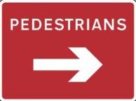 Roll Up Road Signs Roll Up Rectangular Road Signs 600 X 450 Rol16