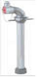Standpipe Bayonet Aluminium Standpipe Round Thread Outside Dublin