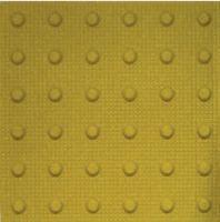 Tactile Paving Buff Blister Tiles 400mm X 400mm Tac01
