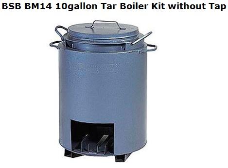 Bsb Bm14 10gallon Tar Boiler