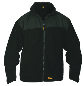 Thermo Fleece Size L Full Zip Fleece (sterling Safety)