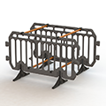 The Boss Barrier Height: Depth: Width: Weight: 1100mm 50mm 2000mm 9.9kg