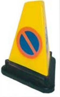 Cones Traffic Triangular No Waiting Cone Tra07