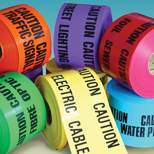 Underground Warning Tape Branded Warning Tape (various Texts & Colours) 150mm X 365m Und39