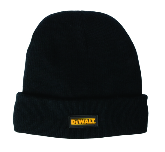 Beanie Hat Black Knitted Hat (sterling Safety)